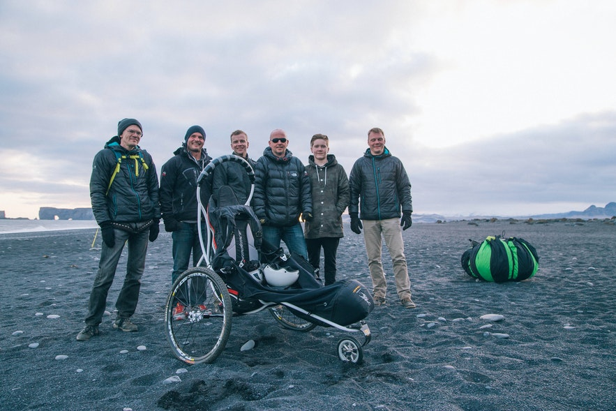 The team behind the Flying Chair