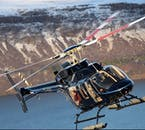 A helicopter tour will reveal to you the many diverse landmarks and landscapes found across west Iceland and the Snæfellsnes Peninsula.