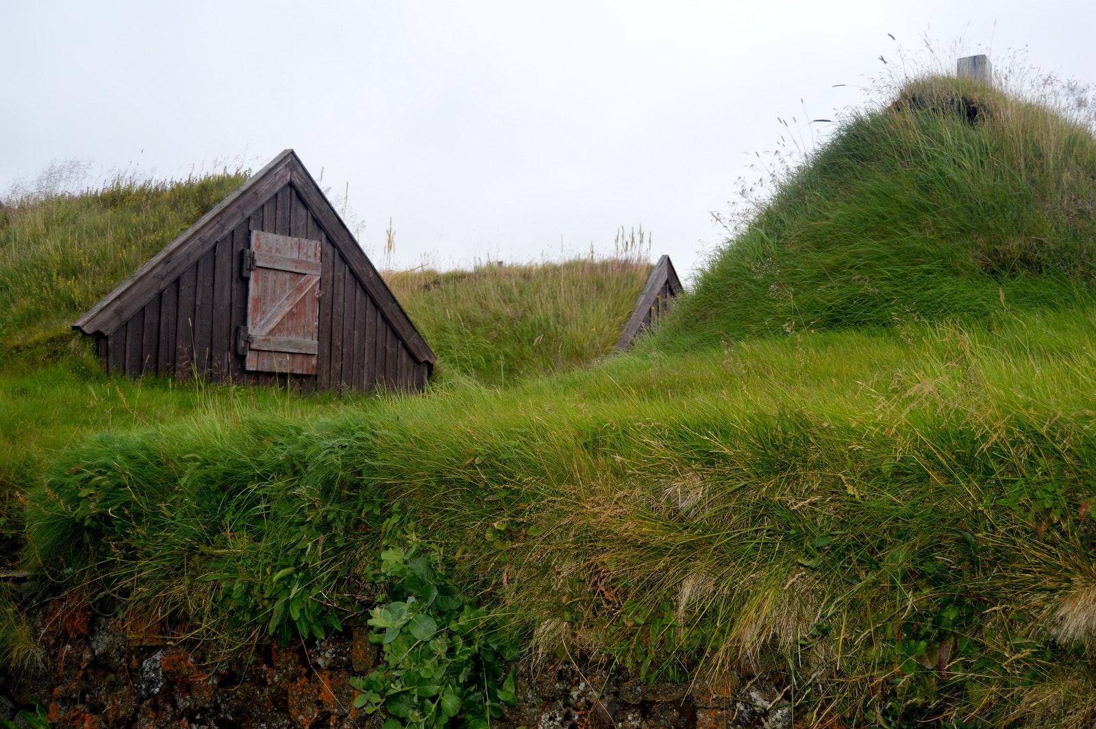 The majestic Grenjaðarstaður Turf House in North-Iceland