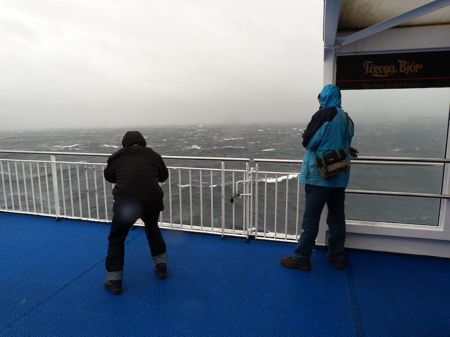 Wetter und der rauhe Nordatlantik
