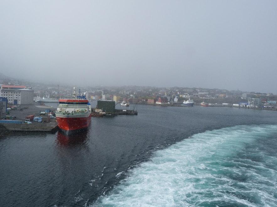 Thorshaven auf den Färöer Inseln