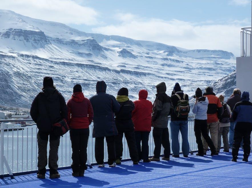 Einfahrt nach Seyðisfjörður