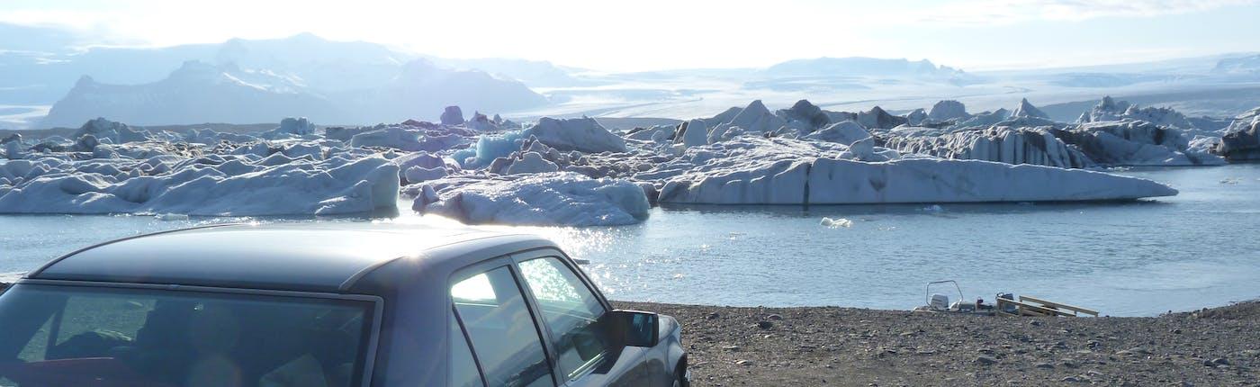 Gletscherlagune in Island