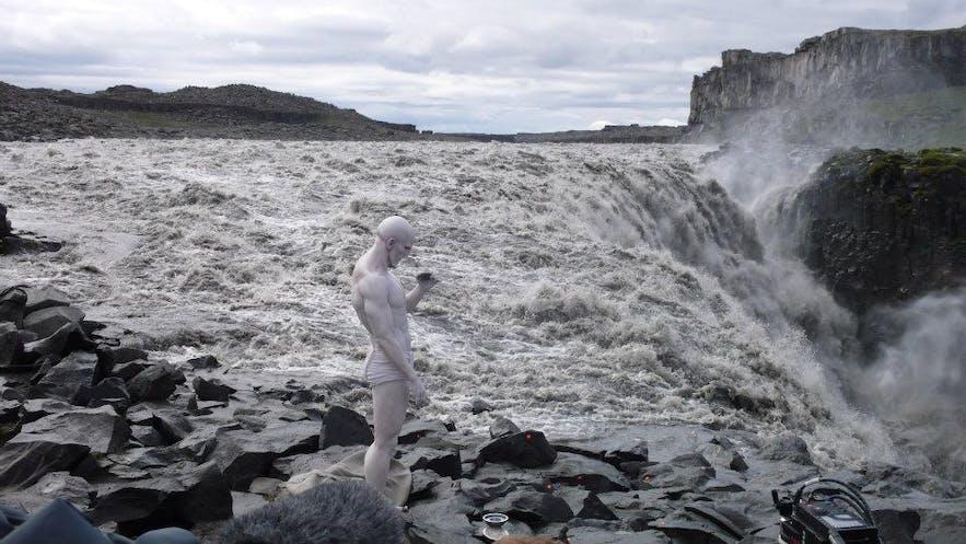 Prometheus-ingeniøren ved Dettifoss i Island