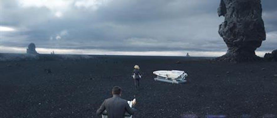 星际迷航2:暗黑无界冰岛取景