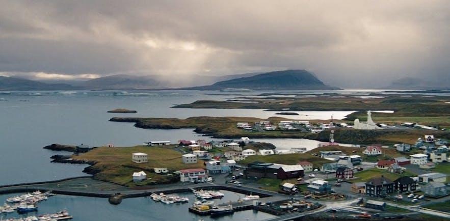 Locations fra film og tv-serier i Island