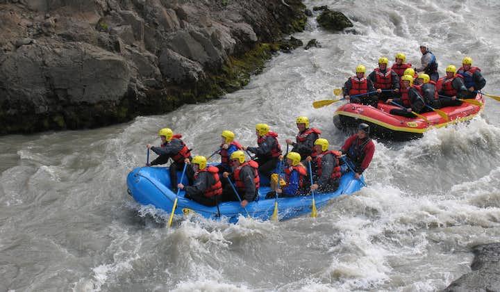 北部冰岛河流漂流旅行团|西冰川河