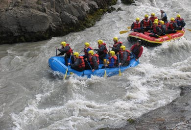 River Rafting Tour in North-Iceland   West Glacial River