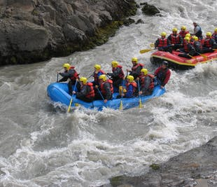 River Rafting Tour in North-Iceland | West Glacial River