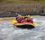 Although the West Glacial River is tame, you will still need to paddle per your guide's instructions.