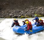 Austari-Jökulsá, a rafting river in North Iceland, accessible in summer, has the nickname 'The Beast of the East'.
