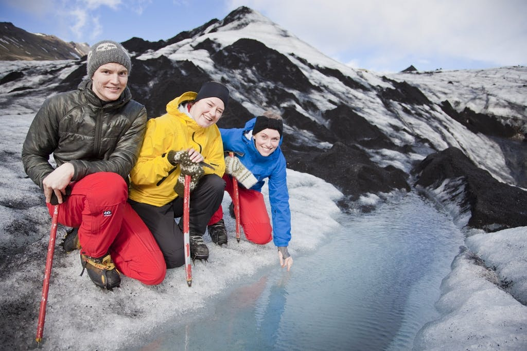 Horse Riding and Glacier Hiking Tour from Reykjavik