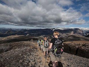 Fimmvorduhals Volcano Hike from Skogar