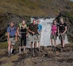 Enjoy lesser known waterfalls on the Fimmvorðuháls Volcano Hike.