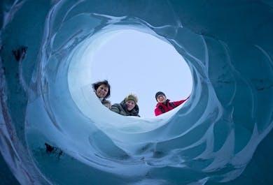 Восхождение на ледник Солхеймайёкюдль и южное побережье | Уровень сложности: легкий