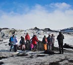 Senderismo en el glaciar Solheimajokull y tour por la Costa Sur   Dificultad: fácil
