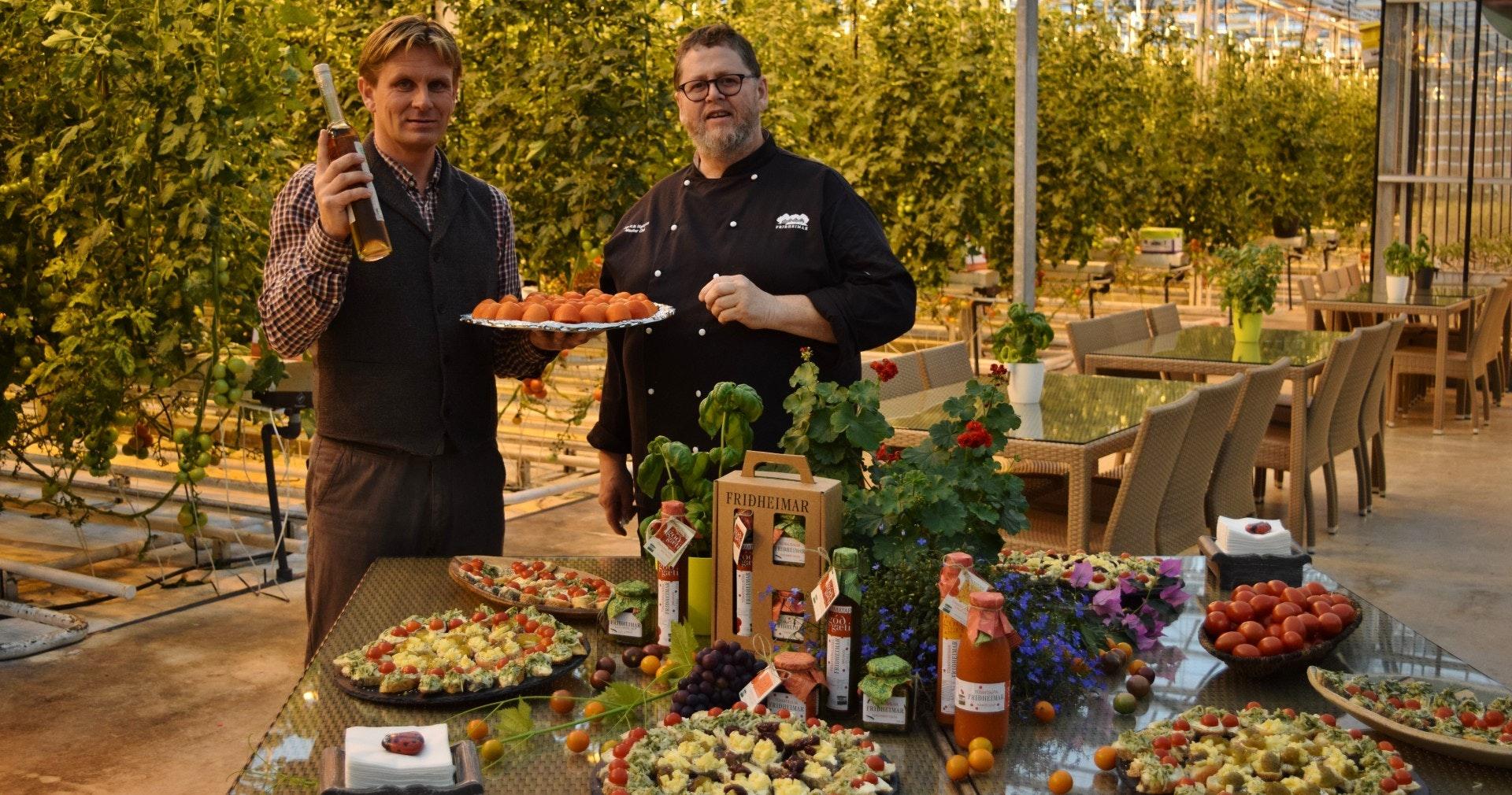 冰岛番茄农场主Knútur和主厨Jón