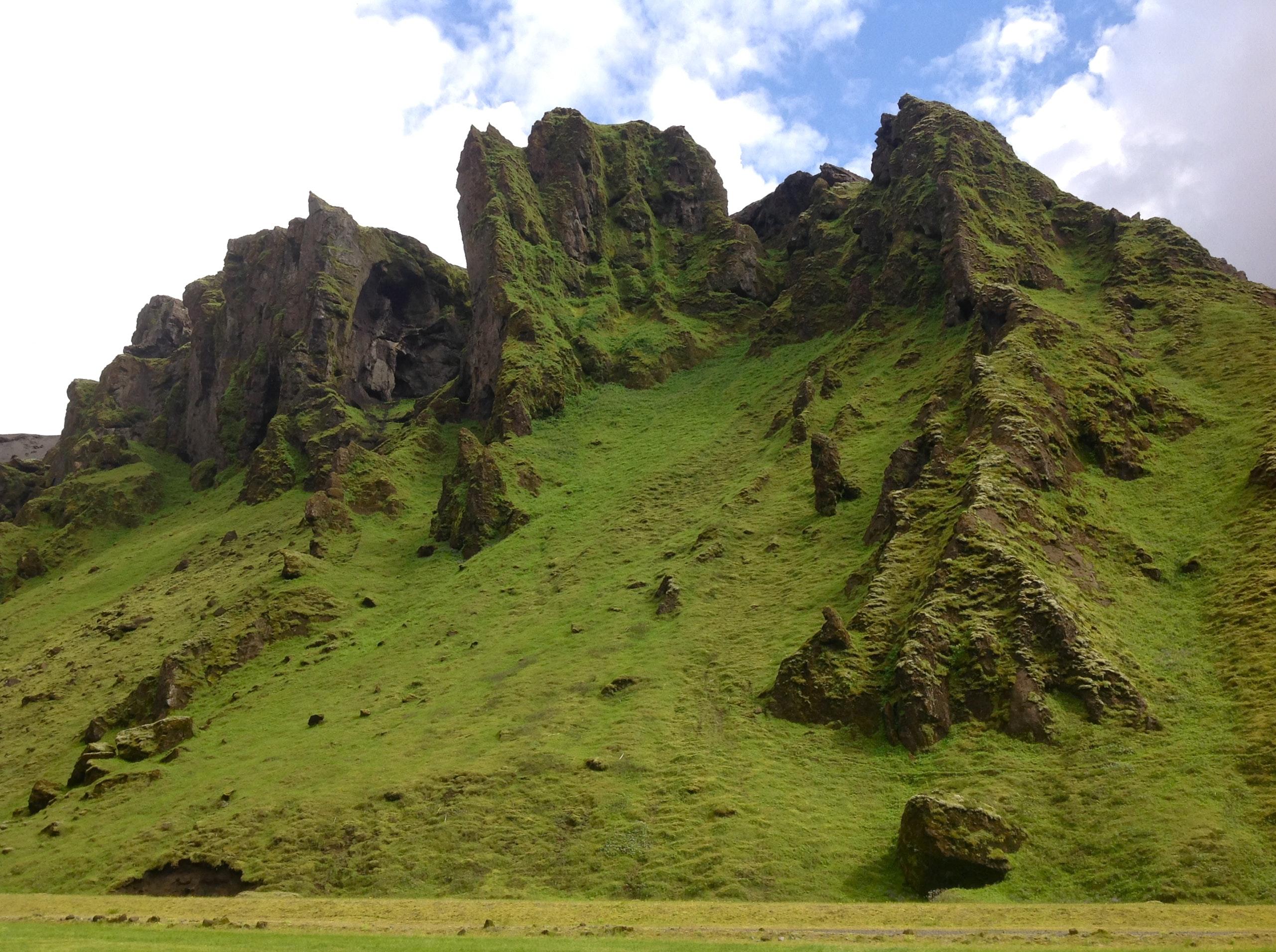 Þakgil camping grounds