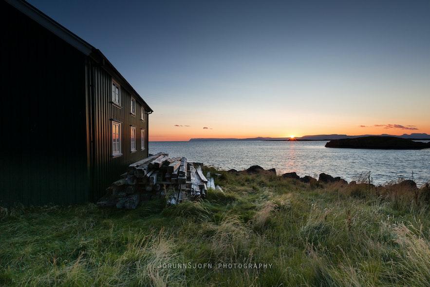 冰岛西部Flatey岛
