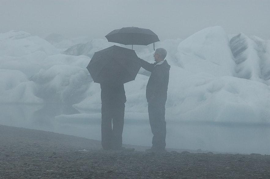 Le parapluie, cet accessoire inutile en Islande