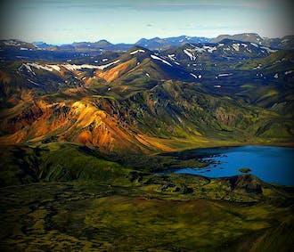 Flightseeing Tour   Eyjafjallajokull Volcanic Canyon & Laki Craters