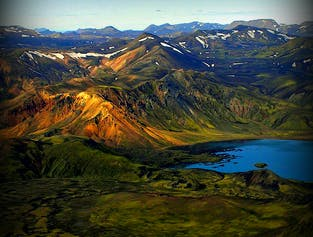 Flightseeing Tour | The Eyjafjallajökull Volcanic Canyon & Laki Craters