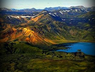 Flightseeing Tour | The Eyjafjallajökull Volcanic Canyon & Laki Craters