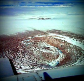 Grimsvotn Eruption Site   Flightseeing Tour