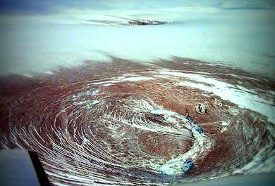 Grimsvotn Eruption Site | Flightseeing Tour