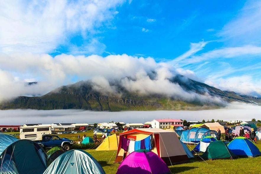 Camper à Eistnaflug