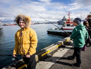 Rent a Rod | 1 Hour Reykjavik Harbour Angling