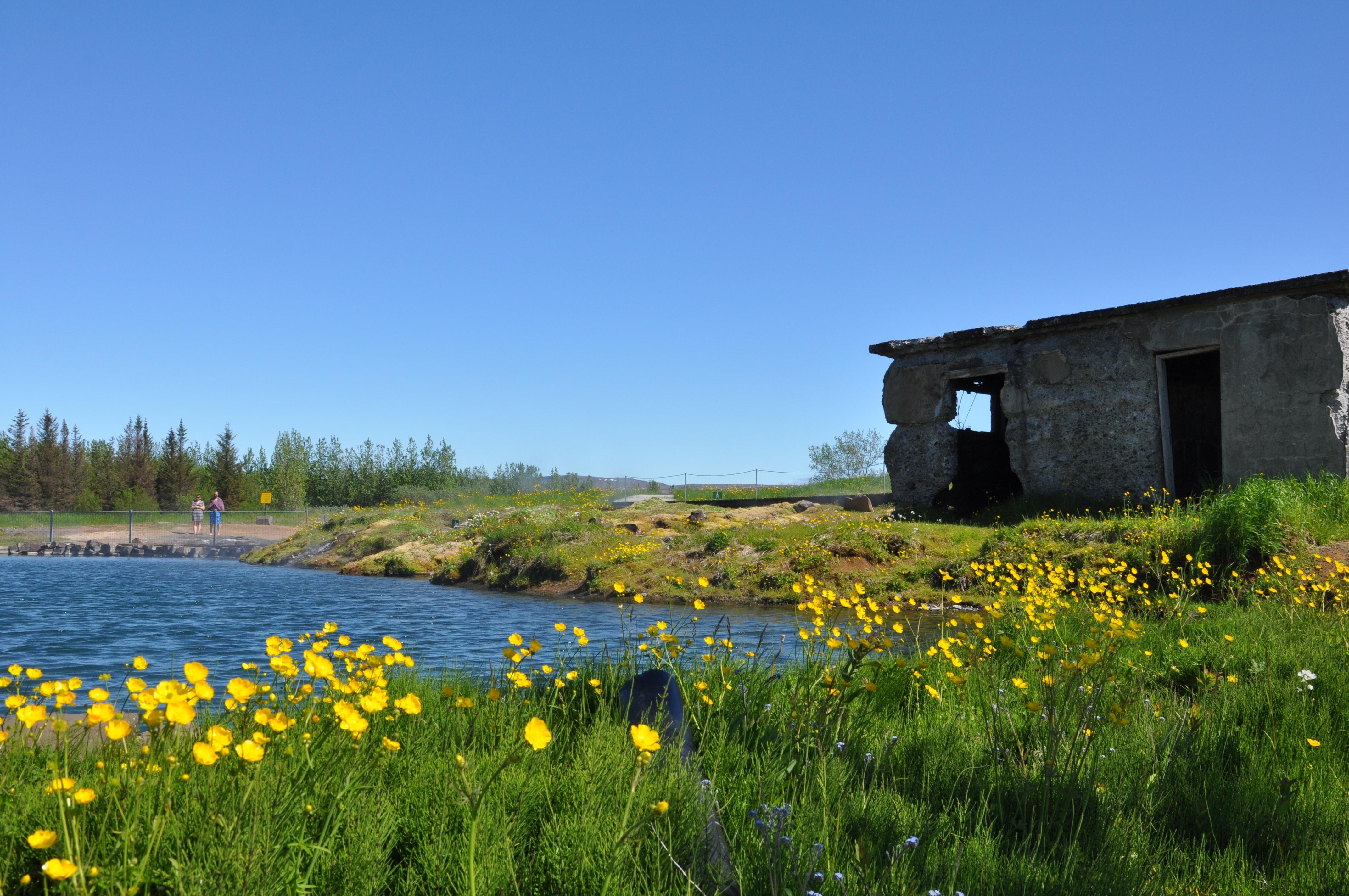 The Secret Lagoon at Flúðir
