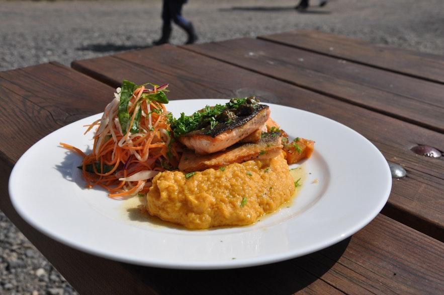 Frischer Fisch in Reykjavík