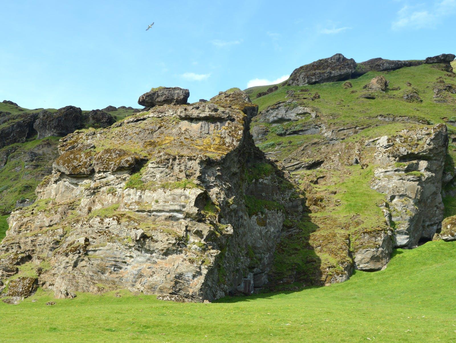 The Peculiar Rútshellir Cave in South-Iceland