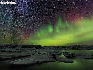 2 jours d'aventure dans le Sud | grotte de glace, Skaftafell, lagune glaciaire de Jokulsarlon