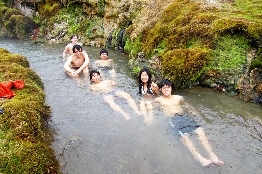 Bathing in Reykjadalur Geothermal Valley is one of the most popular and authentic activities available in Iceland.