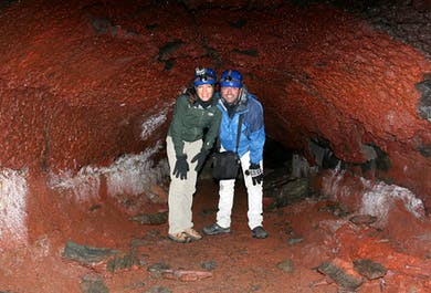 Caving on the Reykjanes Peninsula | Half-Day Tour from Reykjavik