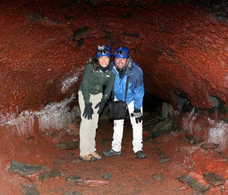 The Golden Circle & Lava Caving Tour