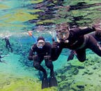 It is possible to photograph under the water at Silfra, just make the camera is attached to your suit. Silfra is sometimes referred to as the 'Go Pro Graveyard.'