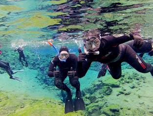 Silfra and the Golden Circle | Snorkelling and Sightseeing