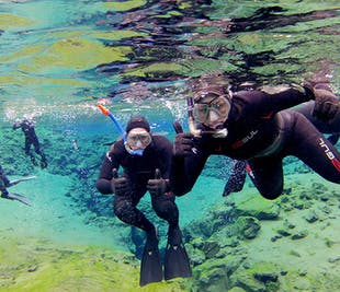 Snorkeling in Silfra & The Golden Circle with Underwater Photos | Full day experience