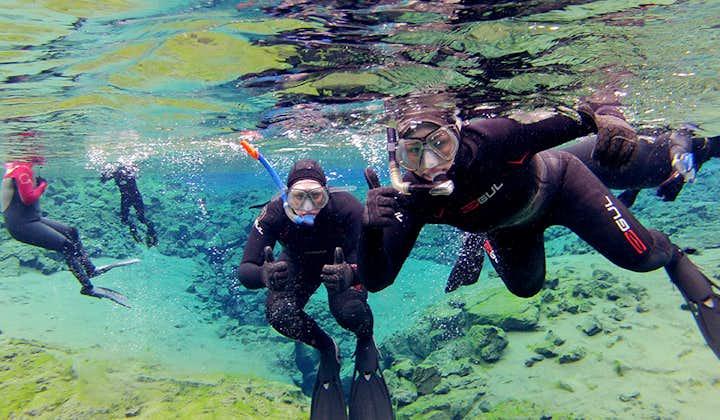 Snorkeling à Silfra et Visite des incontournables du Cercle d'Or   Photos offertes