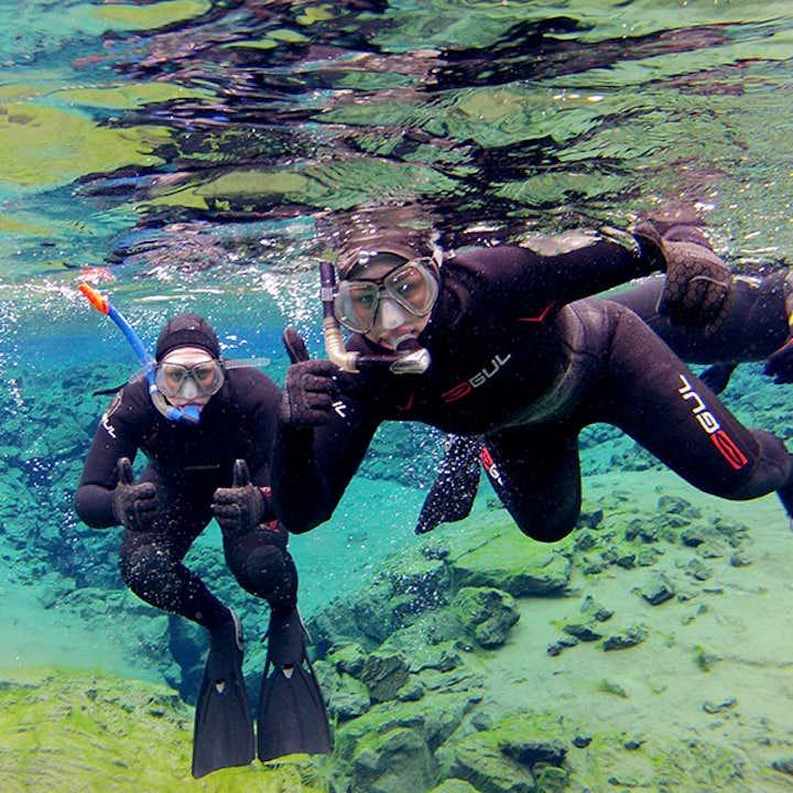 Tour de un día al Círculo Dorado con snorkel en Silfra | Fotos gratis bajo el agua