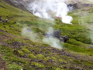 Hiking Tour To The Hot Springs Of Reykjadalur