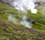 Wanderung zu den heißen Quellen   Reykjadalur