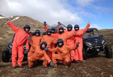 Buggy au Mont Esja   Départ de Reykjavik