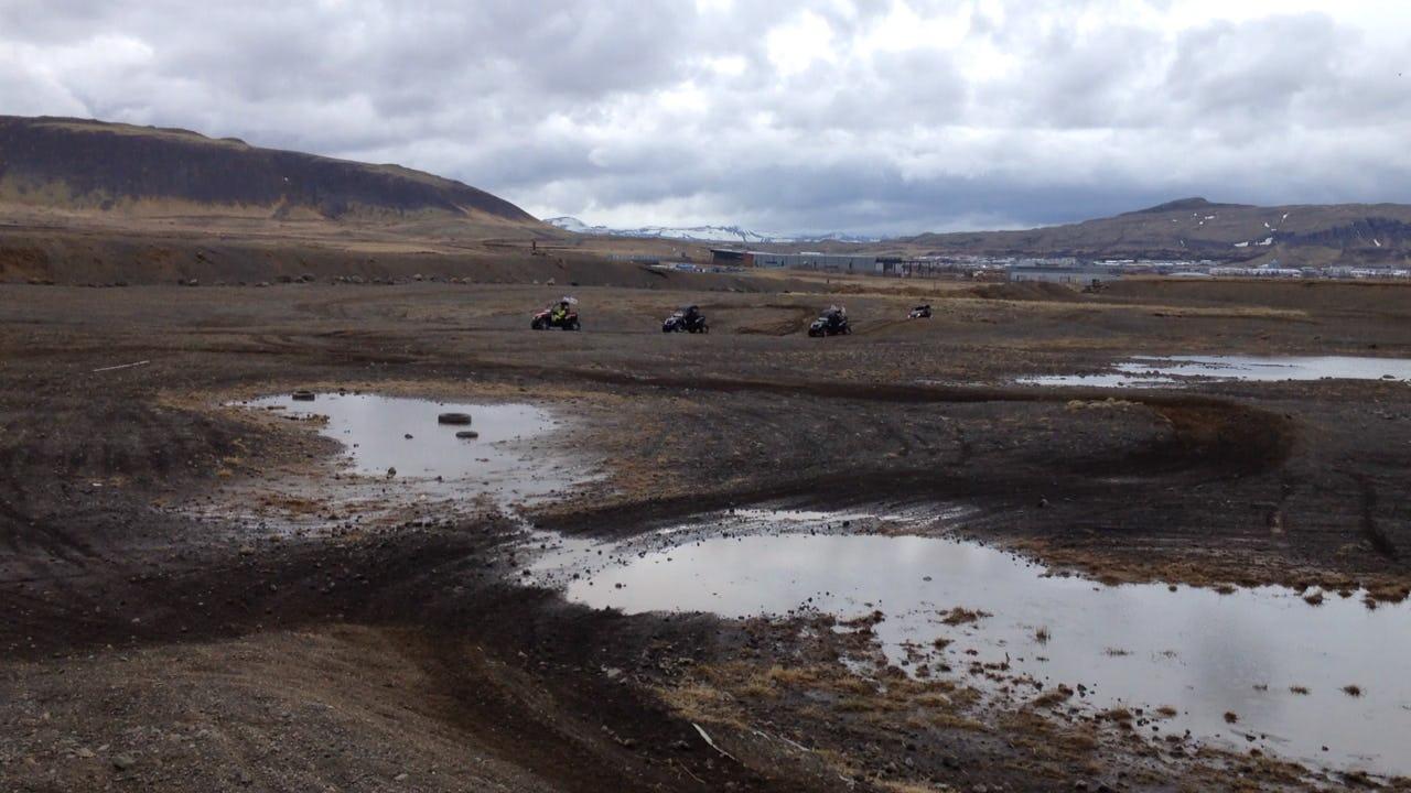 Buggy through Iceland's barren, bare landscapes.