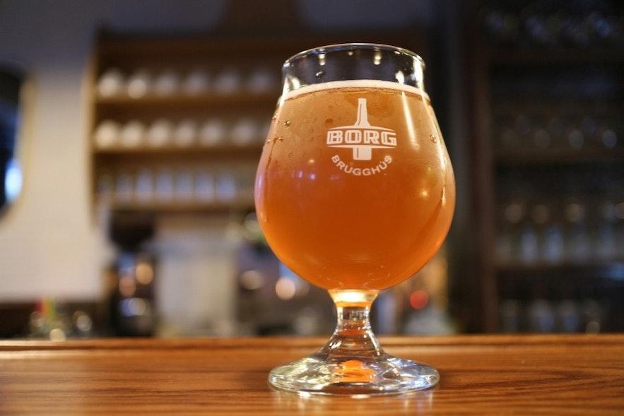 冰岛雷克雅未克精酿啤酒酒吧Skúli的精酿啤酒