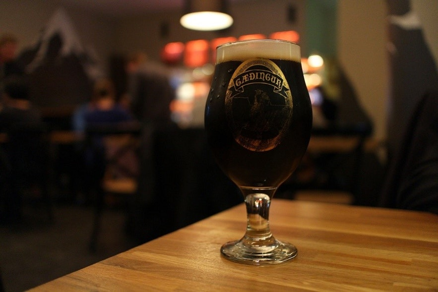 Iceland Reykjavik MicroBar Craft Beer