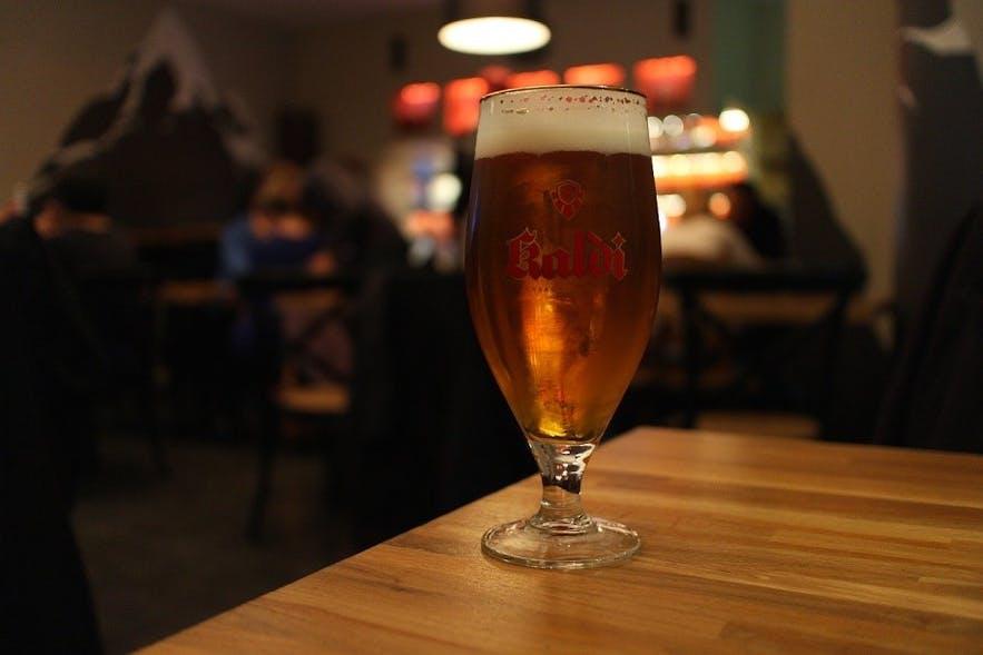 冰岛雷克雅未克精酿啤酒酒吧MicroBar啤酒